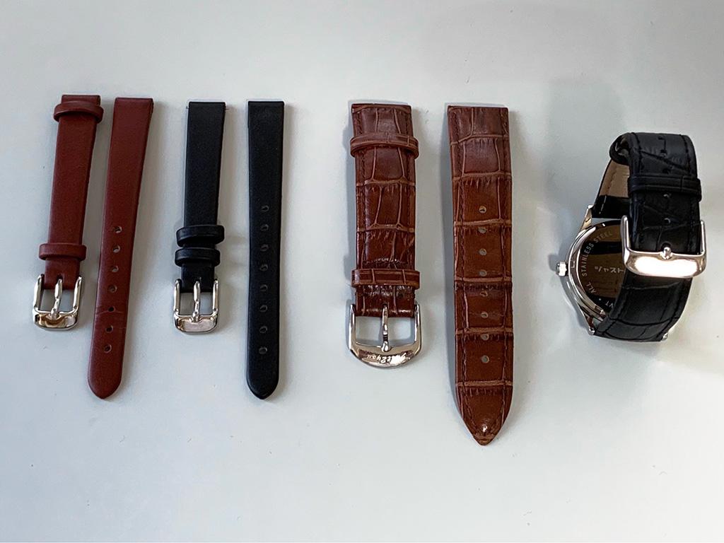 腕時計OEM用ベルト標準品(革ベルト)